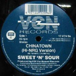 画像1: $ SWEET 'N' SOUR / CHINATOWN (12 VCN 9) EEE15+