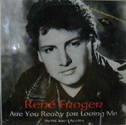 画像1: RENE FROGER / ARE YOU READY FOR LOVING ME ジャケ折 ラスト