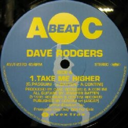 画像1: $ DAVE RODGERS / TAKE ME HIGHER * MADE IN JAPAN (AVJT 2370) YYY199-2989-10-29
