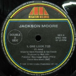 画像1: $$ JACKSON MOORE / ONE LOOK (SPEC-1606) Y8?